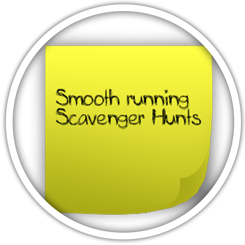 Smooth-Running-Scavenger-Hunts